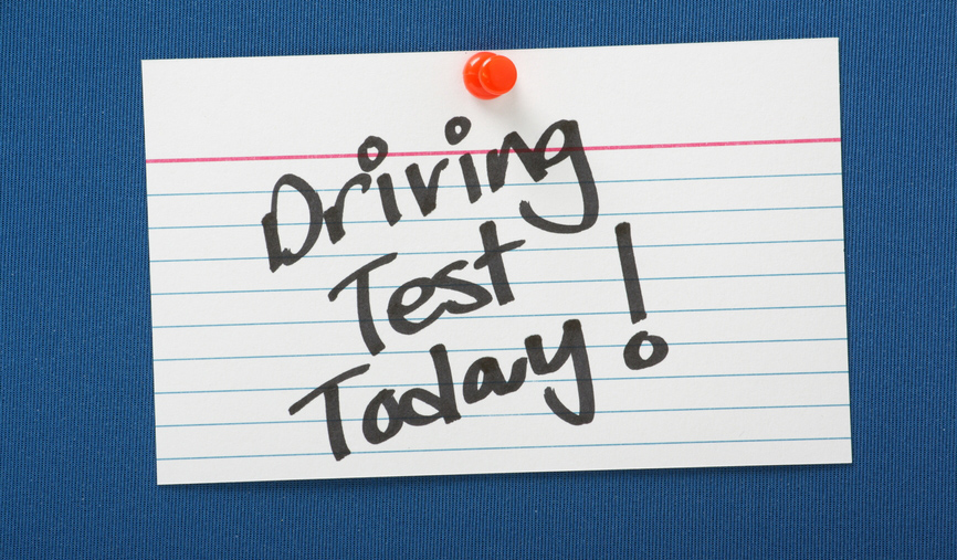 driving test today